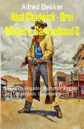 Neal Chadwick - Drei Western, Sammelband 2: Die wilde Brigade/ Blutspur/ Brigade der Desperados: Cassiopeiapress Western