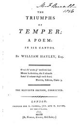 The triumphs of temper; a poem