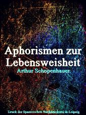 Aphorismen zur Lebensweisheit (German Language)