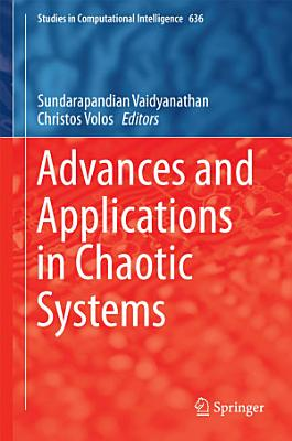 Advances and Applications in Chaotic Systems PDF