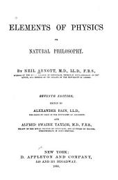 Elements of Physics: Or Natural Philosophy