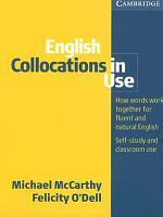 English Collocation in Use  Per Le Scuole Superiori PDF