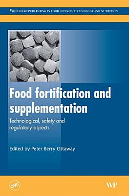 Food Fortification and Supplementation
