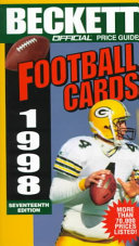 The Official Price Guide to Football Cards, 1998