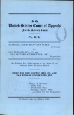 National Labor Relations Board V  Dan Howard Mfg   Co PDF