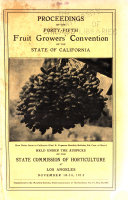 Proceedings of the ... Fruit-Growers' Convention of the State of California