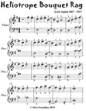 Heliotrope Bouquet Rag - Easiest Piano Sheet Music for Beginner Pianists
