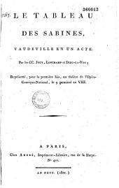 Le tableau des Sabines: vaudeville en un acte