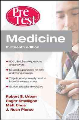 Medicine PreTest Self Assessment and Review  Thirteenth Edition