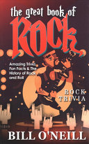 Download The Great Book of Rock Trivia Book