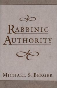 Rabbinic Authority Book