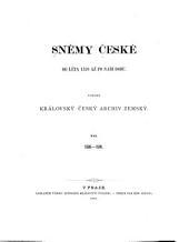 Böhmischen Landtagsverhandlungen und Landtagsbeschlüsse