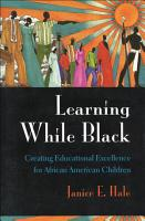 Learning While Black PDF