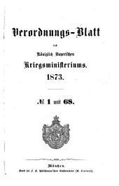 Verordnungs-Blatt: 1873