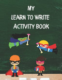 My Learn To Write Activity Book PDF