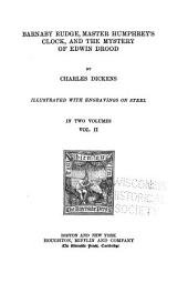 The Writings of Charles Dickens: Barnaby Rudge, Master Humphrey's clock, and The mystery of Edwin Drood