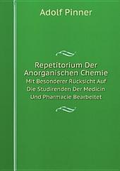 Repetitorium Der Anorganischen Chemie