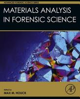 Materials Analysis in Forensic Science PDF