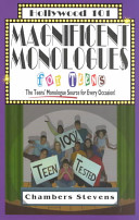 Magnificent Monologues for Teens PDF