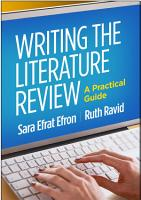 Writing the Literature Review PDF
