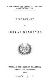 Dictionary of German synonyms