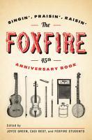 The Foxfire 45th Anniversary Book PDF