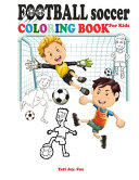 Football Soccer Coloring Book for Kids