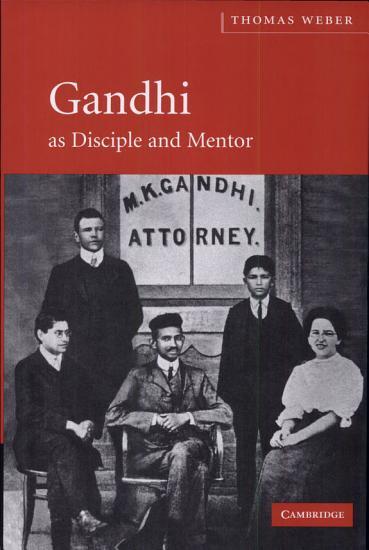 Gandhi as Disciple and Mentor PDF