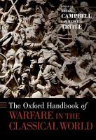 The Oxford Handbook of Warfare in the Classical World PDF
