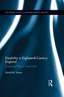 Disability in Eighteenth century England PDF
