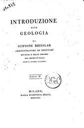 Introduzione alla geologia di Scipione Breislak ... Parte prima [-seconda]: Volume 2
