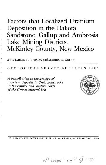 Upper Paleozoic Carbonate Bank in East central Idaho  Snaky Canyon  Bluebird Mountain  and Arco Hills Formations and Their Paleotectonic Significance PDF