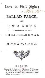 Love at First Sight: a Ballad Farce