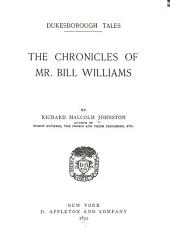 Dukesborough Tales: The Chronicles of Mr. Bill Williams