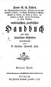 Medicinisches, praktisches Handbuch: Band 3