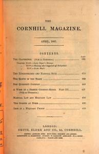 The Cornhill Magazine PDF
