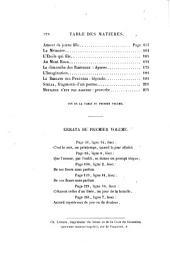 Poésies et nouvelles: Volume1