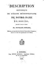 Description historique de l'Eglise metropolitaine de Notre Dame de Rheims