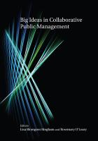 Big Ideas in Collaborative Public Management PDF