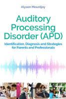 Auditory Processing Disorder  APD  PDF