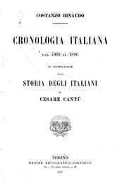 Cronologia italiana, dal 1869 al 1896