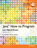 Java How To Program, Late Objects PDF eBook, Global Edition