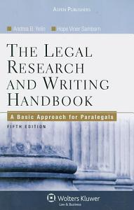 The Legal Research and Writing Handbook PDF