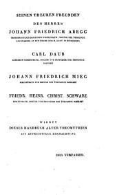 Friedrich Creuzers Symbolik und Mythologie
