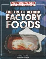 The Truth Behind Factory Foods PDF
