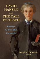 David Hansen and the Call to Teach PDF
