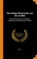 The Indian Penal Code  ACT XLV of 1860 PDF