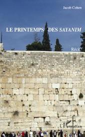 Le printemps des Sayanim