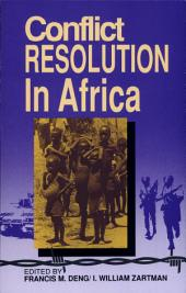 Conflict Resolution in Africa