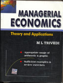 Managerial Economics Theory   Applicatio Book